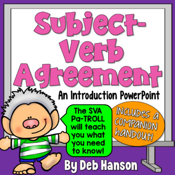 Subject-Verb Agreement Introduction PowerPoint