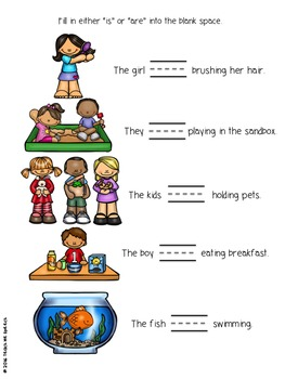 Subject-Verb Agreement: Is vs. Are and Singular vs. Plural