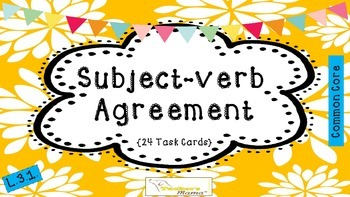 Subject-Verb Agreement {L.3.1]
