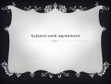 Subject-Verb Agreement PowerPoints