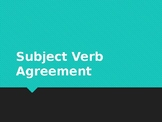 Subject Verb Agreement Practice Activity FREEBIE - ELA Gra