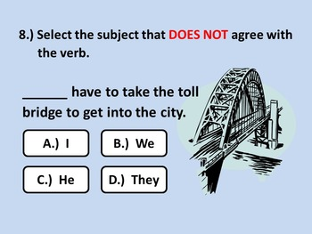 Subject-Verb Agreement PowerPoint: Covering the Basics