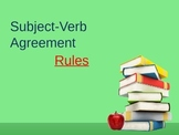 Subject Verb Agreement Rules Pwrpt