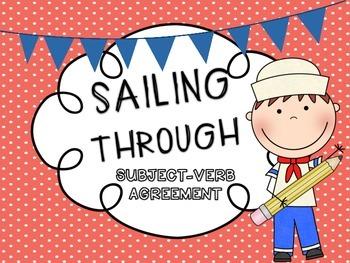 Subject-Verb Agreement {Sailing Through}
