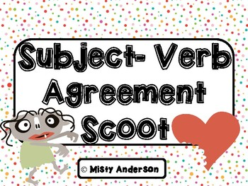 Subject-Verb Agreement Scoot