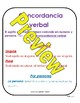 Subject-Verb Agreement Spanish
