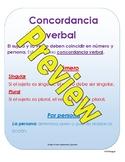 Subject-Verb Agreement Spanish