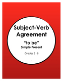 Subject-Verb Agreement - TO BE