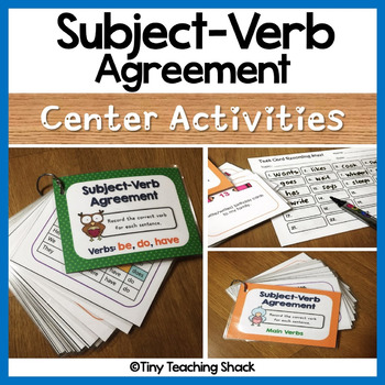Subject Verb Agreement Poster Teaching Resources Teachers Pay Teachers