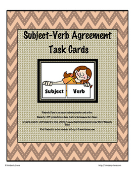 Subject Verb Agreement Teach and Reach Bundle