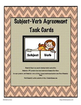 Subject Verb Agreement Teach and Reach Bundle