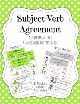 Subject-Verb Agreement Unit