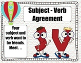 Subject Verb Agreement Where Subject and Verb Agree to be Friends!