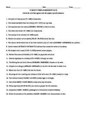 Subject-Verb Agreement Worksheet