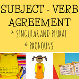 Subject - Verb Agreement Worksheets