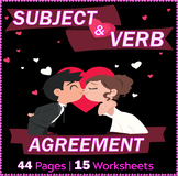 Subject Verb Agreement Worksheets - Grade 7 - ELA