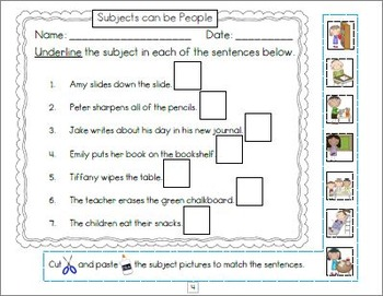 Subject verb agreement worksheets and posters by nylas crafty teaching subject verb agreement worksheets and posters ibookread Read Online