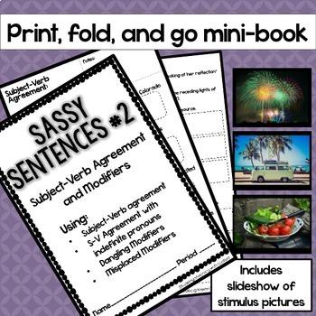 Mentor Sentences - Subject-Verb Agreement - Middle-High School