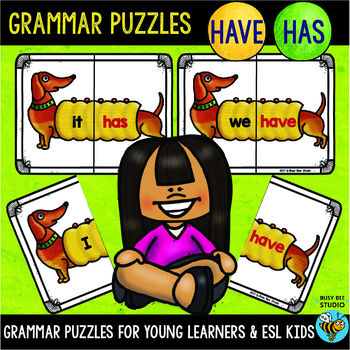 Subject Verb Agreement (have-has) Puzzles