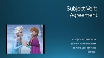 Subject Verb AgreementFROZEN-