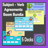Subject - Verb Agreements Boom Bundle