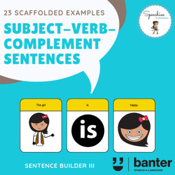 Subject Verb Complement Svc Sentences By Speechies In Business