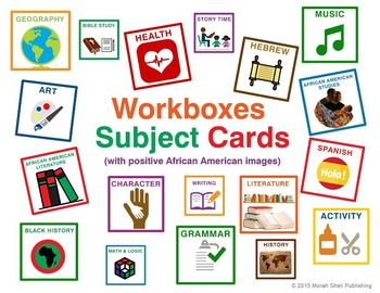Subject Workbox Cards