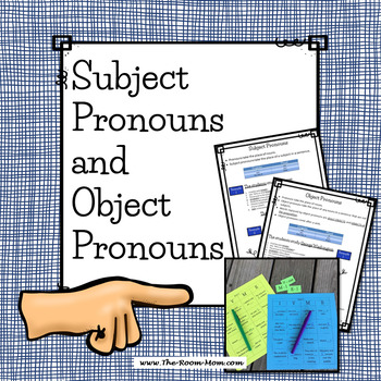 Subject and Object Pronouns