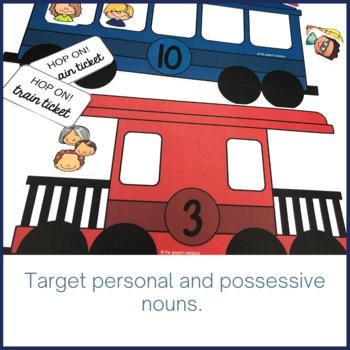 Pronoun Train
