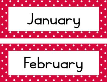 Polka Months