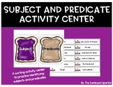 Subject and Predicate Activity Center