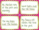 Subject and Predicate Activity and Game (Common Core: Language - L.2.1)
