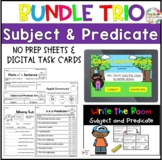 Subject and Predicate Bundle| Distance Learning