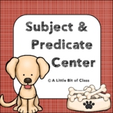 Subject and Predicate Center