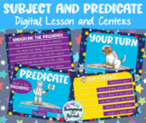 Subject and Predicate Digital Lesson and Center Pack