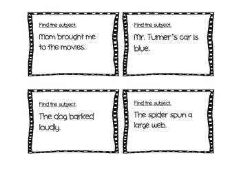 Subject and Predicate Cooperative Learning Game
