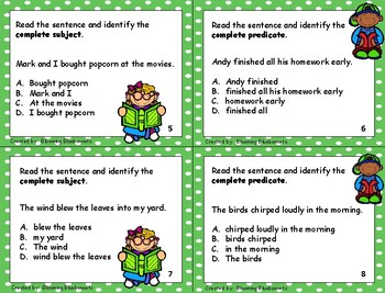 Subject and Predicate - Grammar