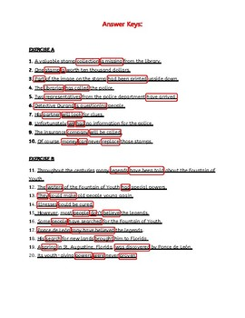 Subject and Predicate, Kinds of Sentence, & Sentence Fragments. ELA Worksheets