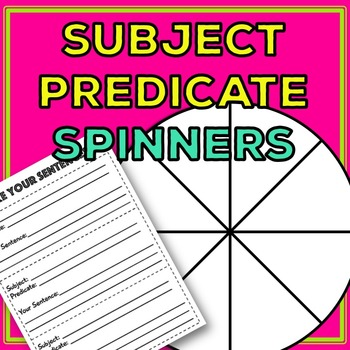 Subject and Predicate: Learn subject and predicate with silly sentences!