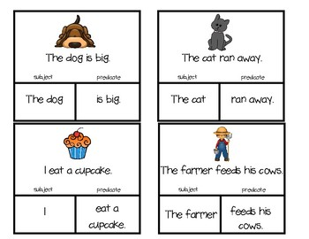 Subject and Predicate Matching