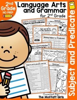 Subject and Predicate NO PREP Packet