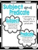 Subject and Predicate Pack!
