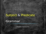Subject and Predicate PowerPoint