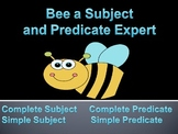 Subject and Predicate PowerPoint (2nd-4th grade)
