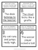 Subject and Predicate Scavenger Hunt Activity: 20 Subject & Predicate Task Cards