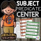 Subject and Predicate 1st Grade
