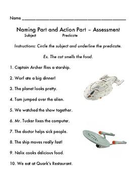 Subject and Predicate Star Trek Style