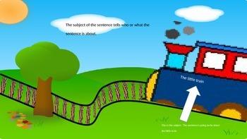 Subject and Predicate Train