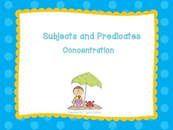 Subject and Predicates