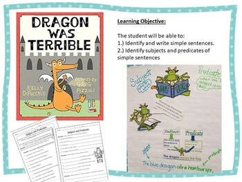 Subject and Predicates Lessons, Center, Activity Sheets and More.